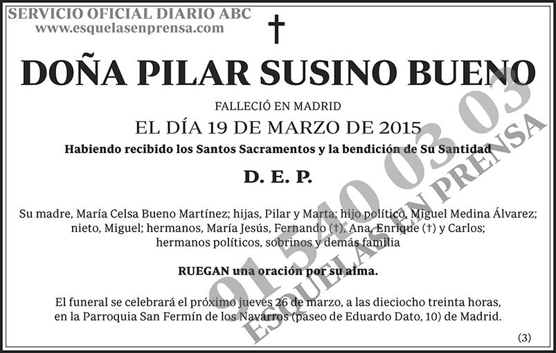 Pilar Susino Bueno